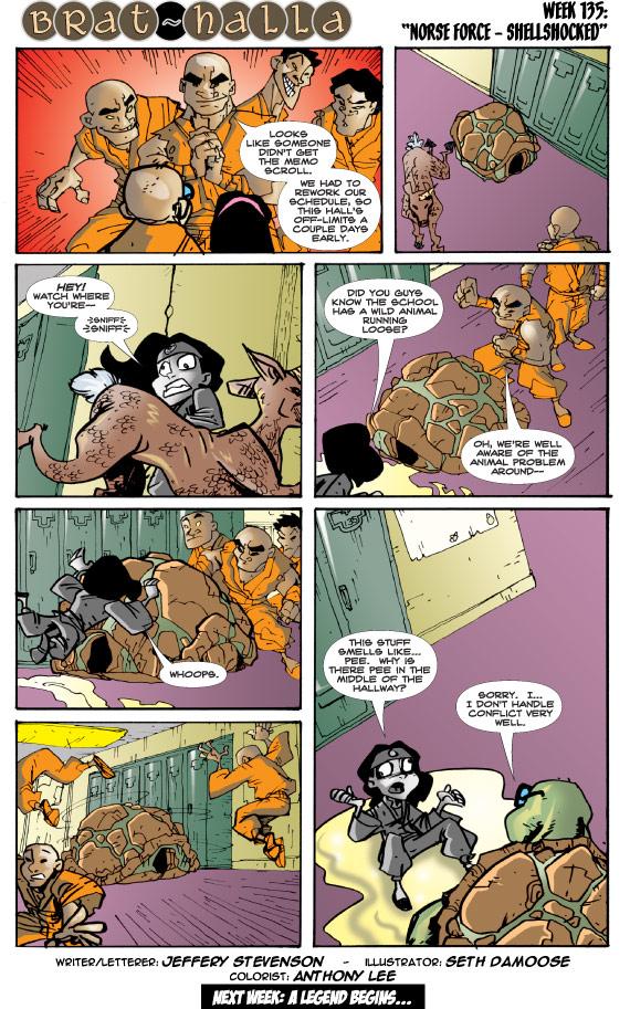Brat-halla #135: Norse Force - Shellshocked