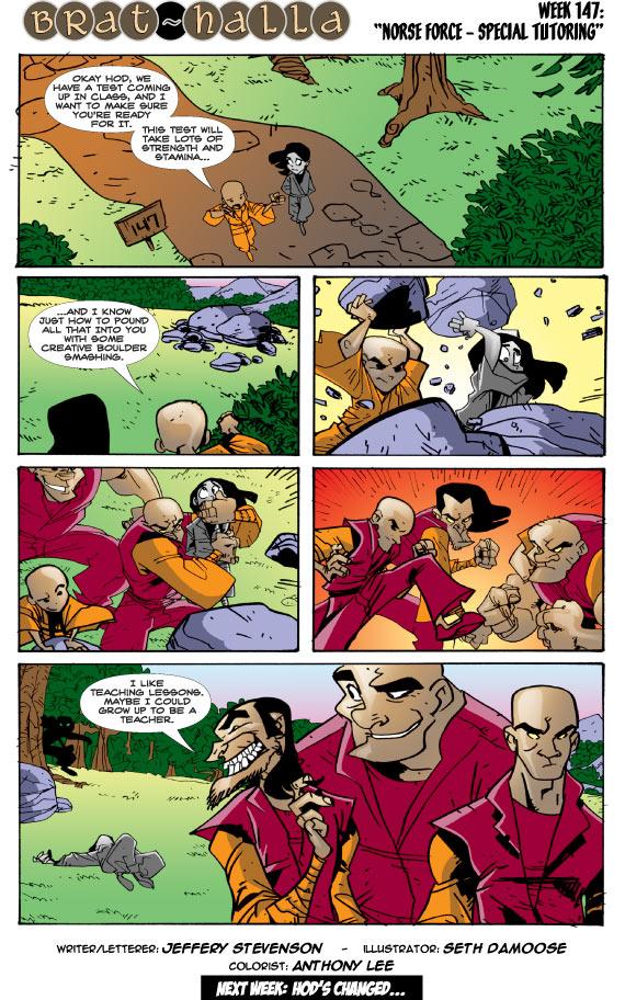 Brat-halla #147: Norse Force - Special Tutoring