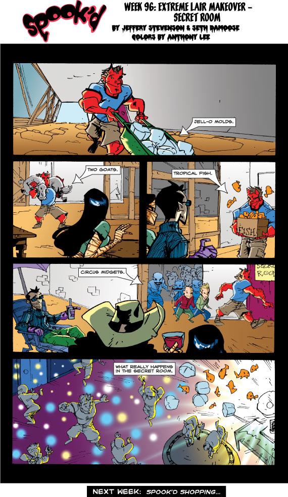 Spook'd #96: Secret Room