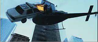 Die Hard stunt