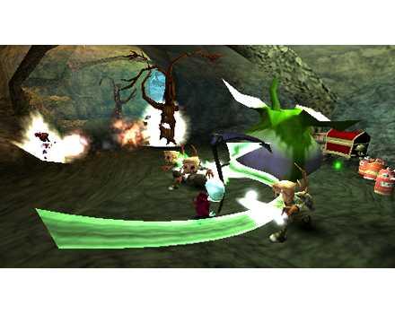 Death Jr DS screen