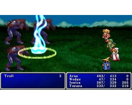 Final fantasy PSP screen