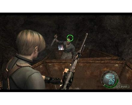 RE 4 Wii Screen