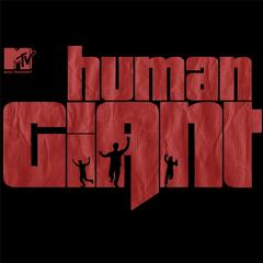 Human giant logo
